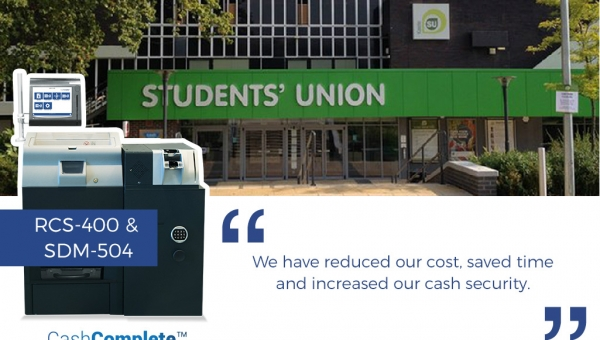 Keele Student's Union optimizes cash handling with SUZOHAPP's CashComplete™ solution