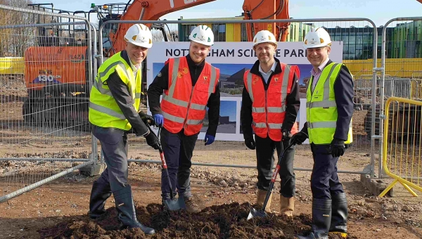 Grade A science park in Nottingham gets underway