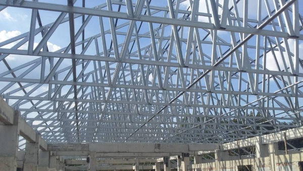 Hadley group provides a Rooftruss over new Thailand school