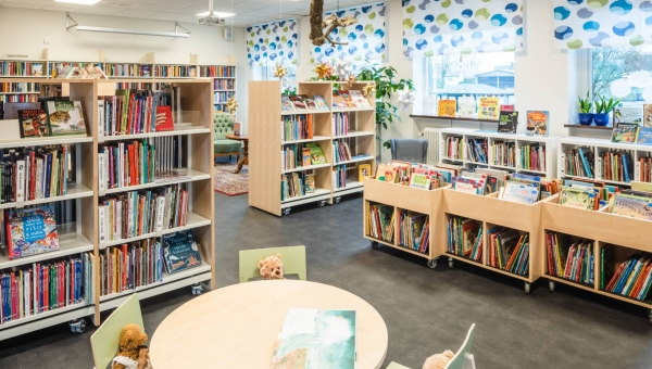 Altro creates peaceful environment for library