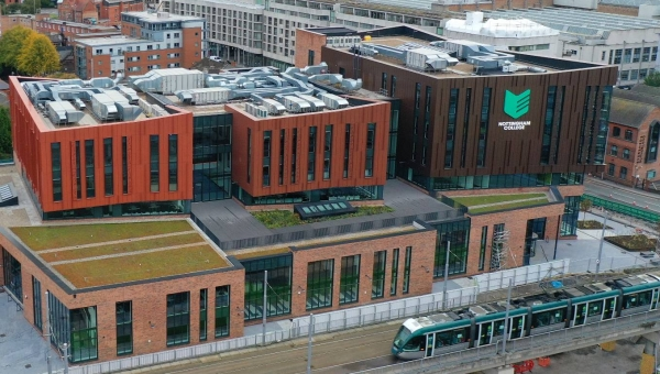 £58.5 Million State-Of-The-Art Nottingham College City Hub Completes